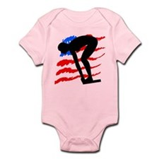 USA SWIMMER Infant Bodysuit