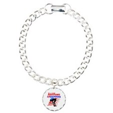 SWIMMER GIRL Charm Bracelet, One Charm