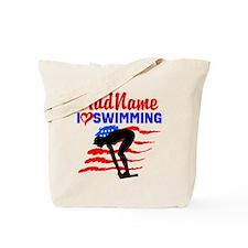 SWIMMER GIRL Tote Bag