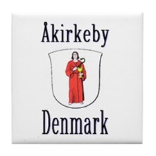 The Åkirkeby Store Tile Coaster