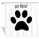 got Akita? Shower Curtain