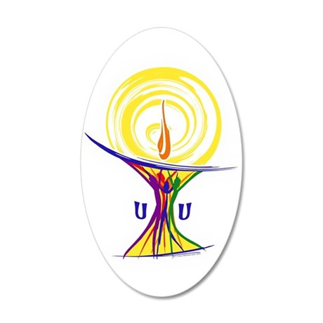 UU Unity Chalice Wall Decal