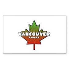 Vancouver Rectangle Decal