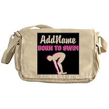 LOVE TO SWIM Messenger Bag