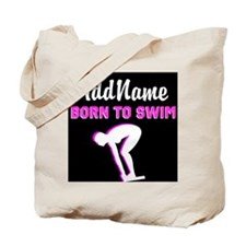 LOVE TO SWIM Tote Bag