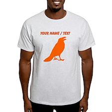 Custom Orange Crow T-Shirt