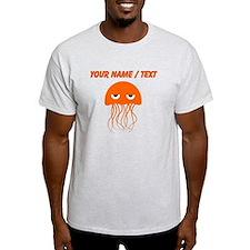 Custom Orange Jellyfish T-Shirt