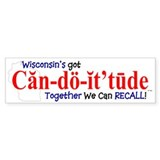 Can-do-it'tude Bumper Bumper Sticker