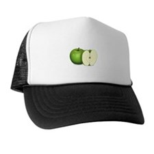 Sliced Green Apple Trucker Hat