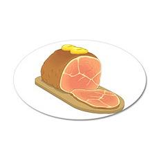 Sliced Ham Wall Decal
