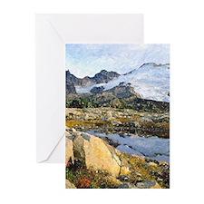 Mt Baker Washington State Greeting Cards