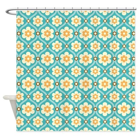 Smith And Noble Curtains Navy and Turquoise Curt