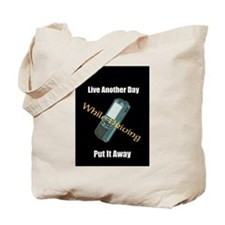 Stop Texting and Driving Tote Bag
