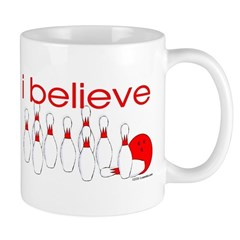 I believe in bowling Mug