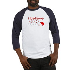 I believe in bowling Baseball Jersey