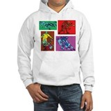 Pop Art Rugby Jumper Hoody