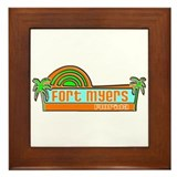 Fort Myers, Florida Framed Tile
