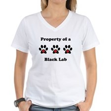 Property Of A Black Lab T-Shirt