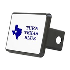 Turn Texas Blue Stkr Hitch Cover