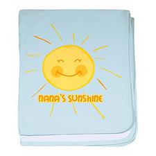 Nana's Sunshine baby blanket