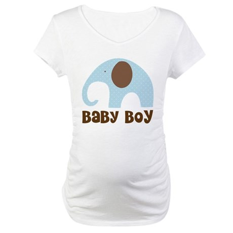 Baby Boy Elephant Maternity T-Shirt