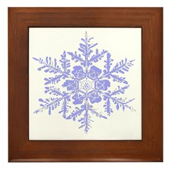 Snowflake Framed Tile