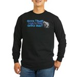 Good Things Long Sleeve Dark T-Shirt