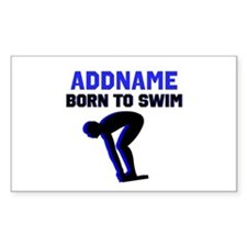 SWIMMER CHAMP Decal
