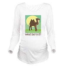 Hump Day Long Sleeve Maternity T-Shirt