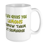 If life gives you lemons.. Large Mug