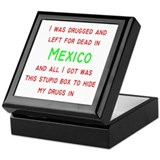 Mexico Keepsake Box