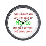 Mexico Wall Clock