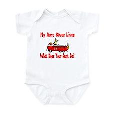 Firefighter Saves Lives-Aunt Infant Bodysuit