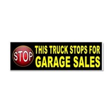 GARAGE SALE BUMPER Car Magnet 10 x 3