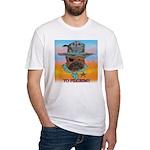 Sherriff bulldog Fitted T-Shirt