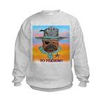 Sherriff bulldog Kids Sweatshirt