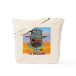 Sherriff bulldog Tote Bag