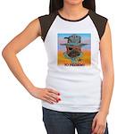 Sherriff bulldog Women's Cap Sleeve T-Shirt