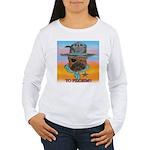 Sherriff bulldog Women's Long Sleeve T-Shirt