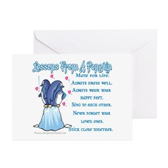 Lessons From A Penguin Greeting Cards (Package of