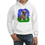 Puppy Summer Field Hooded Sweatshirt