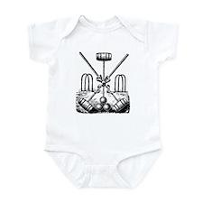 Hand Sketched Croquet Infant Bodysuit