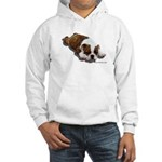 Bulldog Puppy 2 Hooded Sweatshirt