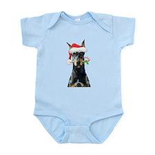 Doberman Christmas Body Suit