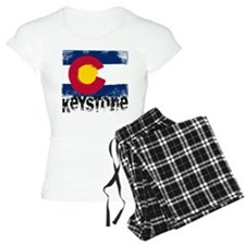 Keystone Grunge Flag Pajamas