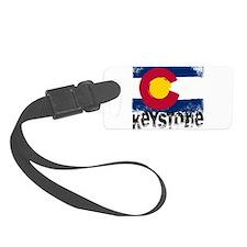 Keystone Grunge Flag Luggage Tag