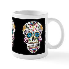 SugarSkull Halloween Black Mugs