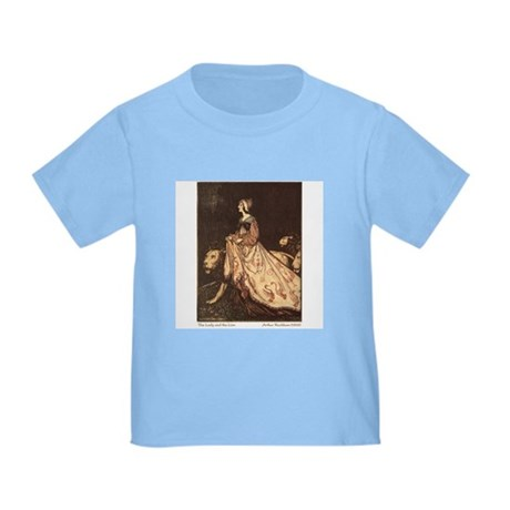 Rackham's Lady and Lion Toddler T-Shirt