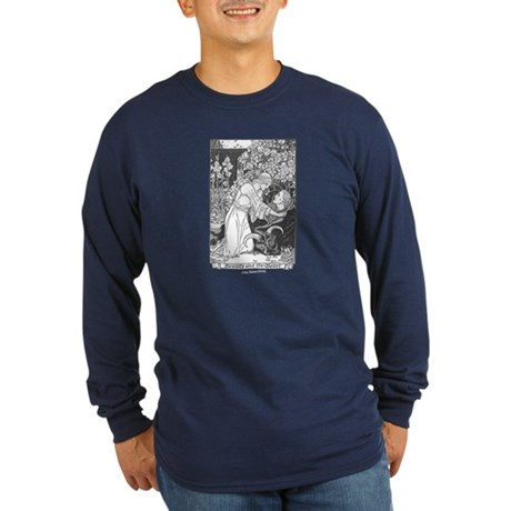 Batten's Beauty & Beast Long Sleeve Dark T-Shirt