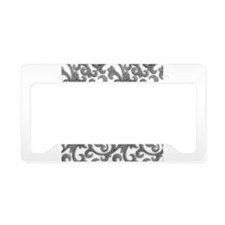 Elegant Filigree License Plate Holder
